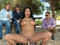 Anissa Kate has sex with her BF...