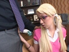 Sexy school girl Alexia Sky is seduced by her teacher