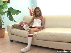 Riley Reid is a dirty naughty babysitter