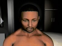 3D Animation Interracial and Monsters