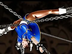 Chunli Bondage and Sexservant 3D