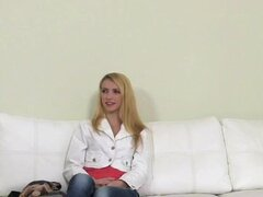 FakeAgent Super Hot Blonde fucked Hard in Casting interview