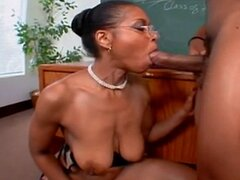 Big Black Booty Teacher Ms.Semmie Savanna