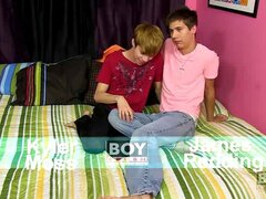 James Redding & Kyler Moss - Lucky James has Kyler Moss for his First Porn-Fuck!