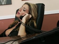 Kayla Paige office fucking