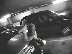 real life parking lot hardcore sex shot by the security cam