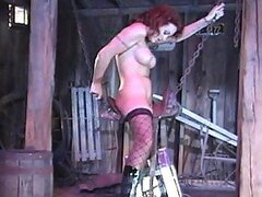 Busty Redhead Hottest Toy Fucking Machines Insertion Action