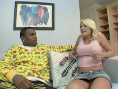 Staci Thorn lets some black stud drill her cute pussy from behind