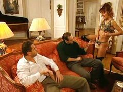 Jennifer Loca Italian Bitch fucked by 2 guy