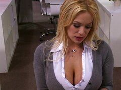Big boobs office girl Shyla Stylez fucked