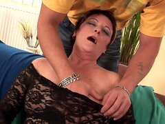 Nice milf being impaled with hardcore force