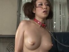Tied Up Asian Cutie Gets Bossed Around By Her Sex Loving Boss