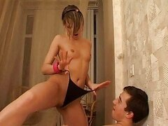 Awesome horny teen