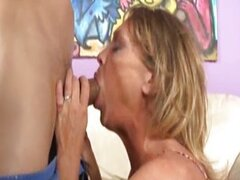Awesome Mature And Teen Blowjob