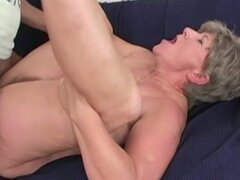 Mature Broad Sucks Dick & Gets Fucked