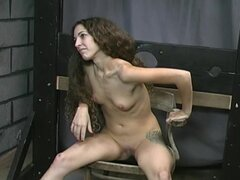 Sweet girl submits to dungeon punishment