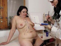 Chubby nurses are fucking in perverted mode