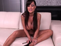 Lisa Anne is a very naughty MILF and lets her huge hooters hang free