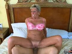 Kinky Grandma Sucks a Big Hard Shaft...