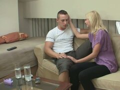 Husband finds out about his cheating blonde wife