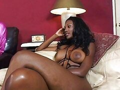 Nyomi and Candace play with their toys