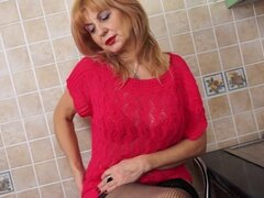 Gorgeous granny with old but still hot body