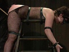Mature Vixen Gets Her First Feeling Of BDSM Games