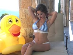 Petite Emily is a gorgeous newcomer