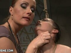 Carmen is punished by mistress Katy