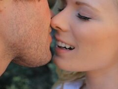 Kissing Tiny Tit Blond