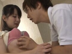 Japanese Hottie Drilled From Behind!