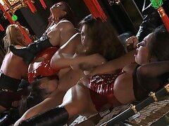 Sexy Comic Babes Have A Wild Lesbian Party With Sex Toys