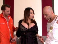 Busty brunette Tigerr Benson being fucked...
