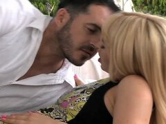 Aleska Diamond making love