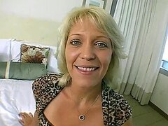 Charlee the Mommy gets fucked deep by a young cock