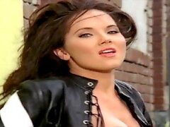 Stephanie Larimore is the Hottest Playmate in Her Leathers