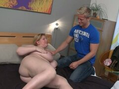 Nasty BBW seduces well-shaped masseur
