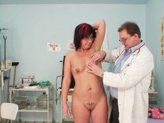 Mature in for doctor exam