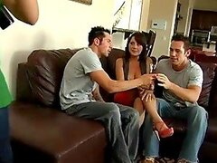 Two married couples meet on Skype and decide to switch partners