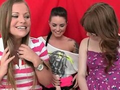 Hot teen lesbians from ParthyOfThree part4