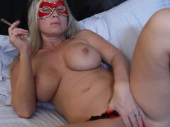 Masked Devon Lee blows you...