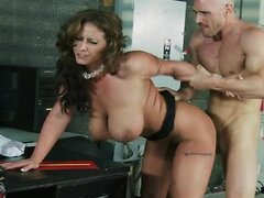 Brazzers - Busty horny weather girl Eva Notty fucks her boss