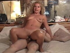 Courtney Cummings the curly blonde having sex with fat guy