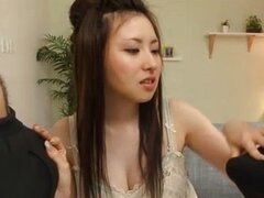 Japanese Girl Sucks Two Guys 62344
