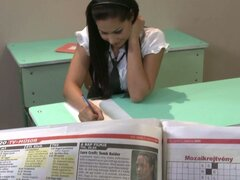 A Slutty School Girl Gets A Naughty And Kinky Lesson
