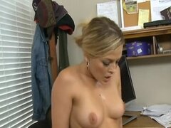 office hotty bosses a cock