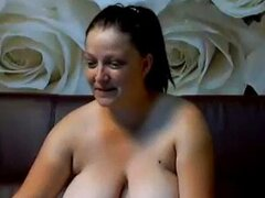 Big Natural Titted Cam Girl