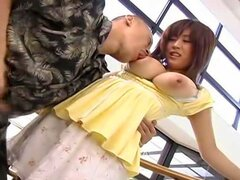 Nana is a cute Japanese call girl when she is dressed