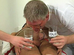 Hardcore gays are sucking sweet cum and urine