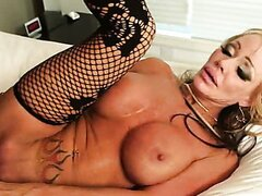 Sexy blonde cougar is trying a new bed/Houston. Part 5